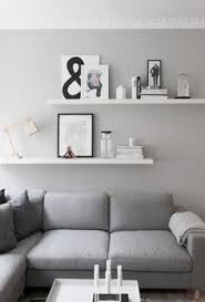 living room wall decor shelves. Living Room Details, Grey Walls, From Createcph - Love The Offset Shelves Wall Decor S
