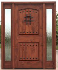 prefinished entry doors. rustic entry doors teak with rain glass prefinished o