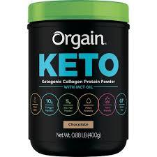 Orgain <b>Keto Collagen</b> Protein Powder - Chocolate - 14.08oz : Target
