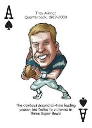 football playing cards for dallas cowboys fans