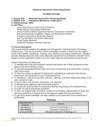Automotive Resume Template And Cover Letter For Automotive