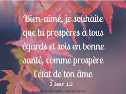 Prière De Bénédiction 3 Jean 12 Bénédictions De Leternel