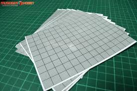 Hd Model Self Adhesive Graph Paper Clear 8sheet Per Pack