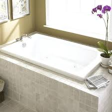 kohler bathtubs kohler k devonshire dropin bath white drop in of k 1219 0 47 96