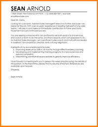 11 Sales Cover Letter Examples Applicationleter Com