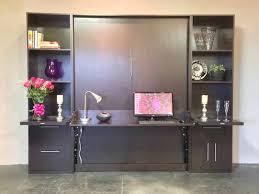 murphy bed desk combo hardwood combination diy