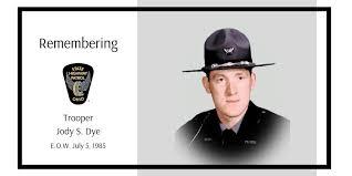 """Ohio State Patrol on Twitter: """"Trooper Jody S. Dye, patrolling ..."""