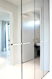 modern mirrored closet doors. Wardrobes: Mirrored Wardrobe Closet Bright And Luminous Luxury Apartment By With Wardrobes Modern Doors