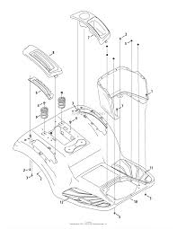 Troy bilt 13wqa2kq011 super bronco 50 2015 parts diagram for fender