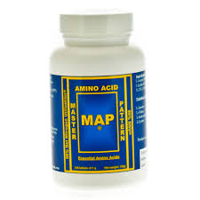 Master Amino Acid Pattern Unique MAP Master Amino Acid Pattern 48 Tablets Evolution Organics