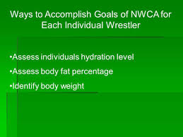 ways to acplish goals of nwca for each individual wrestler