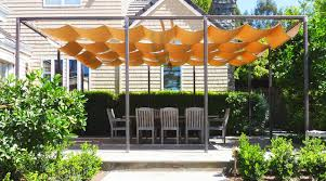 fabric patio shades. Delighful Shades Patio Overhead Shade Throughout Fabric Patio Shades O