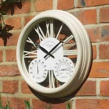 outdoor wall clocks