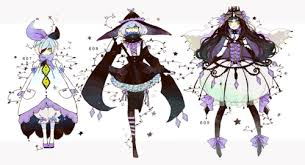 Litwick Evolution Chart Gijinka Human Version Pokemon Litwick Lampent Chandelure