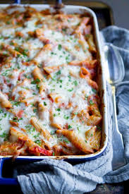 baked ziti with sausage peppers