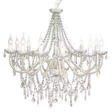lexington home collection cassie french provincial 12 arm glass chandelier cream