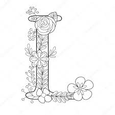 Coloring Pictures Of Letter L Copy Letter L Coloring Book For