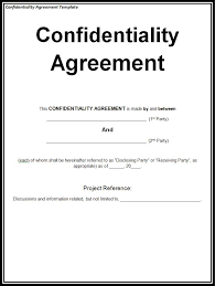 Contractor Confidentiality Agreements Enchanting Why Confidentiality Part 44 Francis Moran AssociatesFrancis