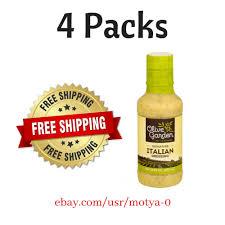 details about olive garden signature italian dressing 16 fl oz bottle pack of 4