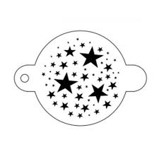 tap face painting stencils 61 magical stars