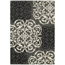 balta medallion gray area rug view larger