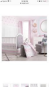 crib bedding set erfly bliss 4pc cloud island purple for