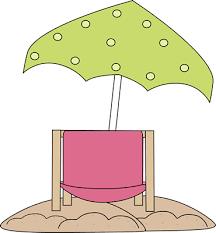 back of beach chair silhouette. Beach Chair Under Umbrella Back Of Silhouette H