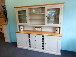Wine Racks For Kitchen Cabinets Painted Dresser With Wine Rack Bespoke Kitchen And Dining Room