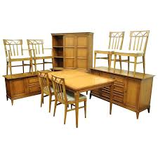 mid century modern dining table set mid century modern premier dining room set walnut wood invitation