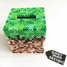 17 best images about minecraft art perler bead minecraft dirt block piggy bank perler beads by super jade designs
