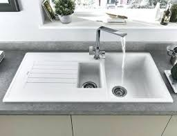 White Granite Composite Sink Bowl  Undermount Kitchen Sinks   Vs Stainless Steel N42