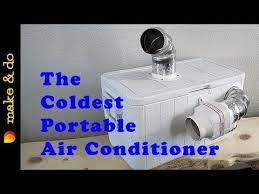 homemade portable air conditioner diy