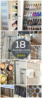 18 DIY Small Apartment Decorating Ideas | Click for Tutorials | DIY Organization  Ideas for Small