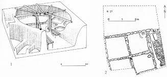 page de la maison ronde à la maison rectangulaire 1 reconsution de la maison circulaire xvlii de mureybet syrie phase iii a mureybétien ppna