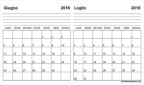 Calendari Da Stampare Calendario T Calendar 2018