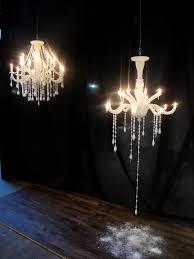 takeshi miyakawa s chandelier made of wax