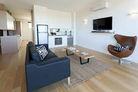 Aquabelle Apartments: Studio living loft style - Apt 6 & 7