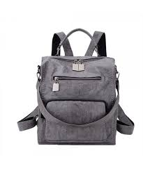backpack ravuo leather fashion shoulder