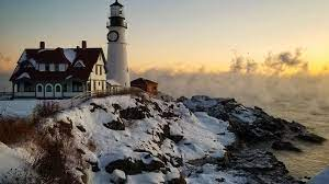 Desktop wallpaper lighthouse, coast ...