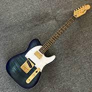 <b>Electric Guitar</b> Telecaster <b>Guitars Rosewood</b> Fingerboard Flame ...