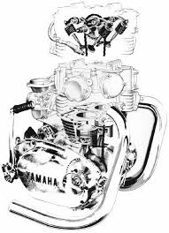 17 best images about xs650 the best flat tracker cutaway of the xs650 engine inthewind org