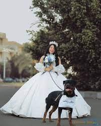 هبة مبروك شابة مصرية تزوجت كلب !!! ... صور