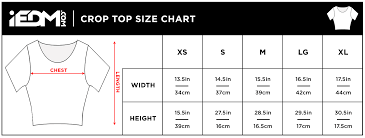 Top Measurement Chart Size Charts