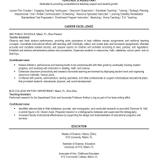 Kindergarten Teacher Resume Job Description Resume Kindergarten Teacher Resume Unique Sample First Year Job 14