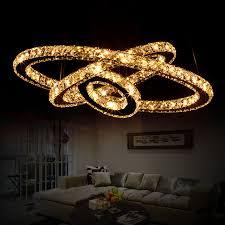 luxury modern lighting.  luxury modern luxury led round crystal chandelier minimalist personality ceiling  lamps lighting fixture three rings droplight luminaire with lighting l