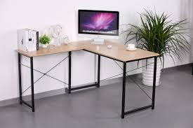 Light Oak Corner Computer Desk Buy Home Office Hoxton Corner L Shape Office Desk In Cherry