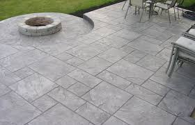 cement patios stunning stamped concrete driveways home elements and style medium size cement patios stunning stamped concrete driveways fire pit pavers