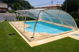 retractable pool cover. This Pool Cover Is Unique And Does Not Really Fit Into Any Typical Category. It Retractable S