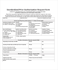 Authorization Request Form Sample Authorization Request Form 100 Examples in Word PDF 2