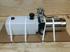 hydraulic power unit spx 12v hydraulic power unit single acting new 1 6 gpm 2500 psi